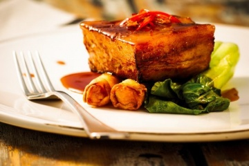 Slow Cooked Chili Spiced Pork Belly